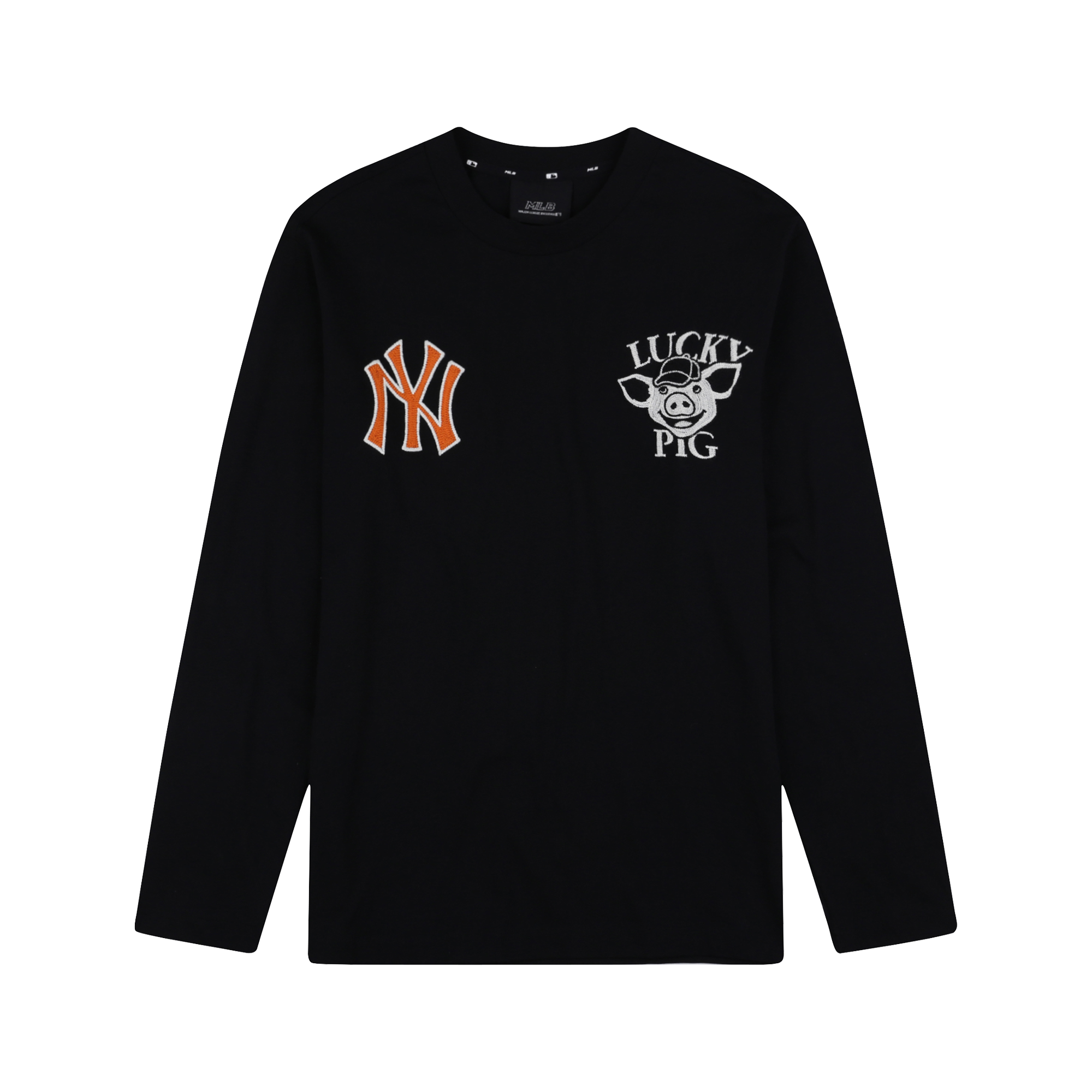 NEW YORK YANKEES LUCKY PIG LONG SLEEVE T-SHIRT