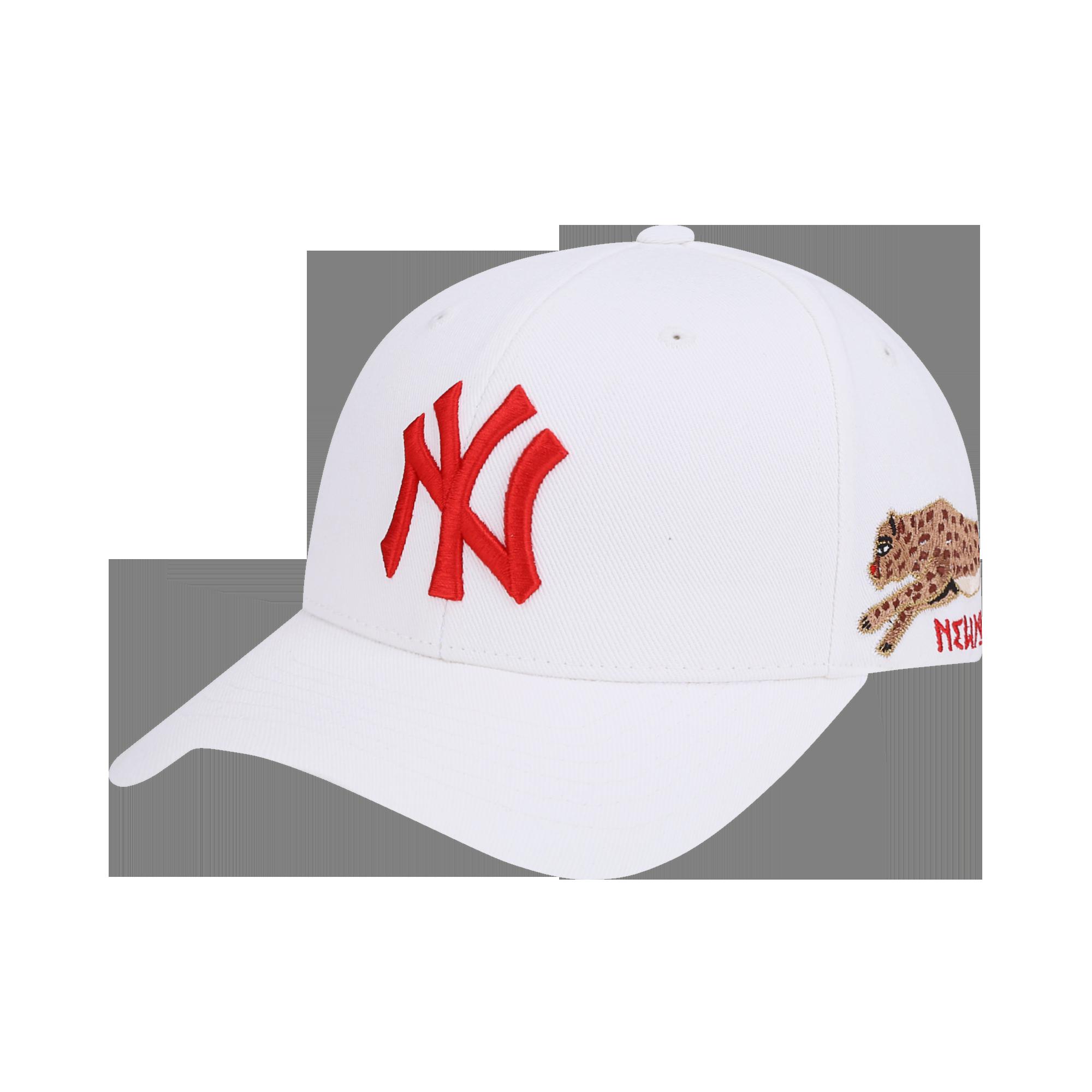 뉴욕 양키스 블랙팬서 스파크 커브조절캡