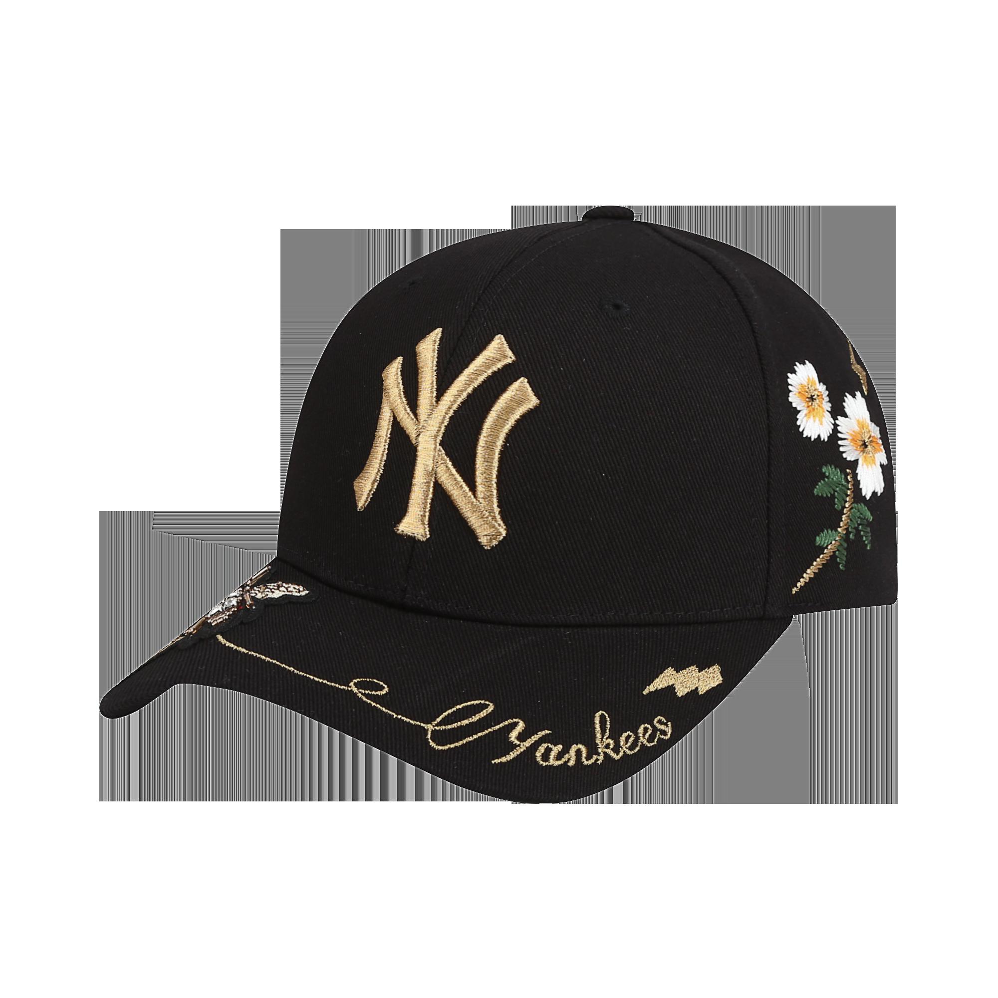 NEW YORK YANKEES GOLD BEE ADJUSTABLE CAP
