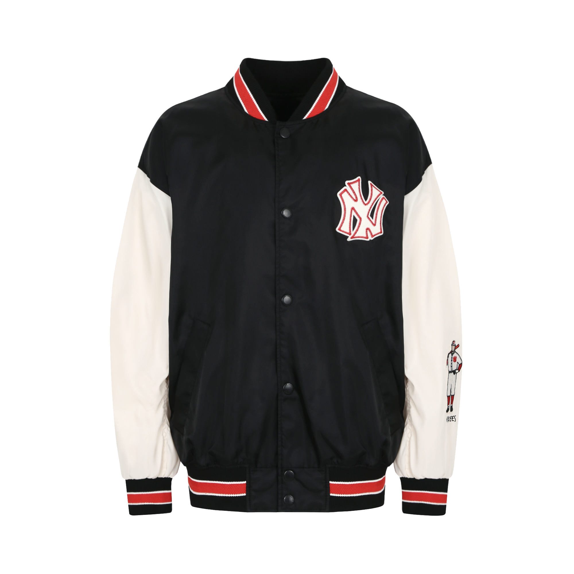NEW YORK YANKEES SATIN WINDBREAKER
