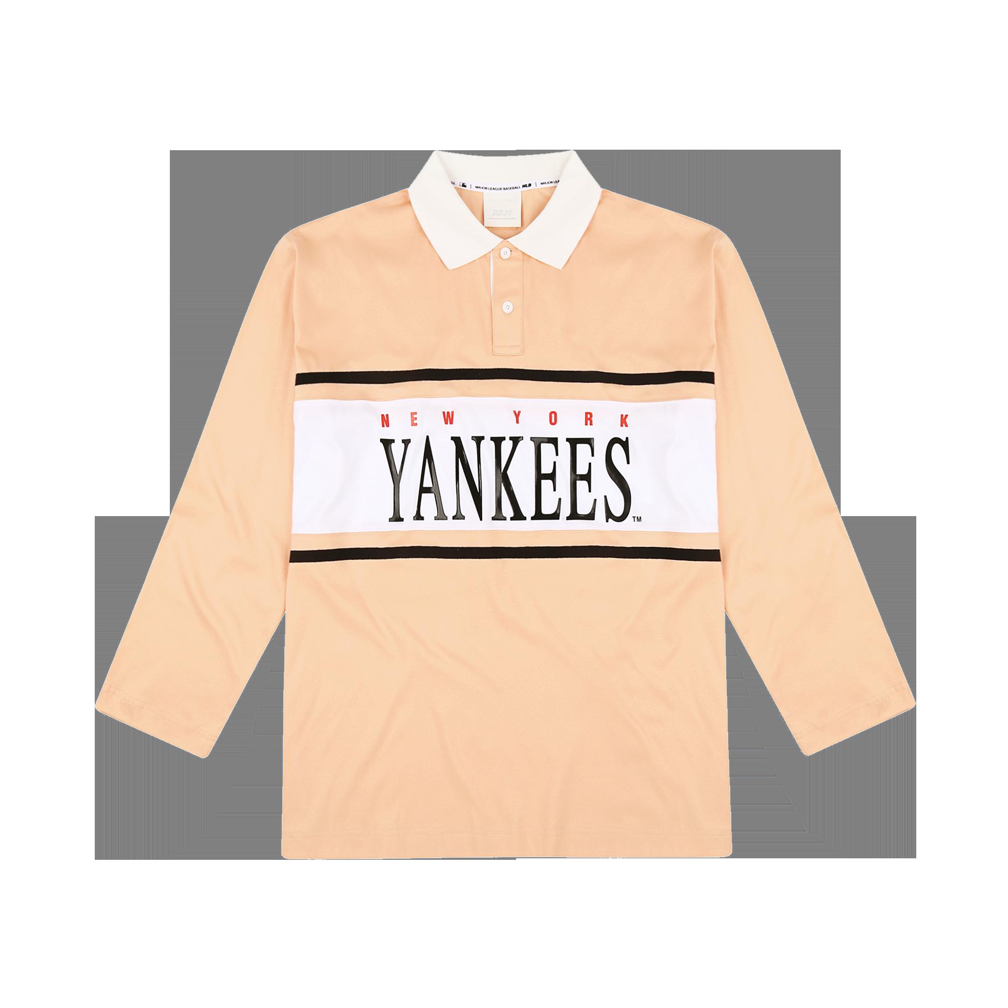 NEW YORK YANKEES RETRO RUGBY T-SHIRT