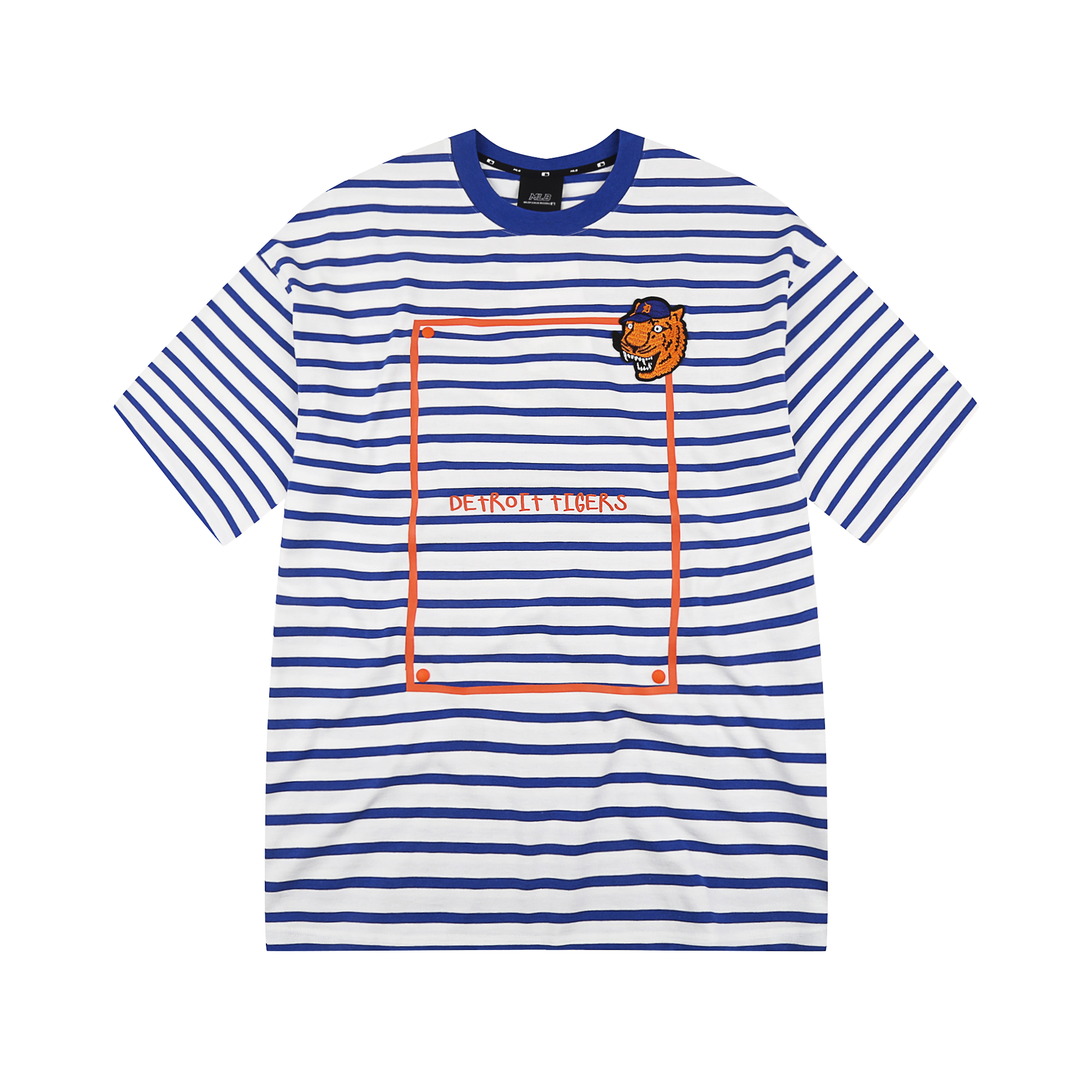 DETROIT TIGERS WHAT STRIPE SHORT SLEEVE T-SHIRT