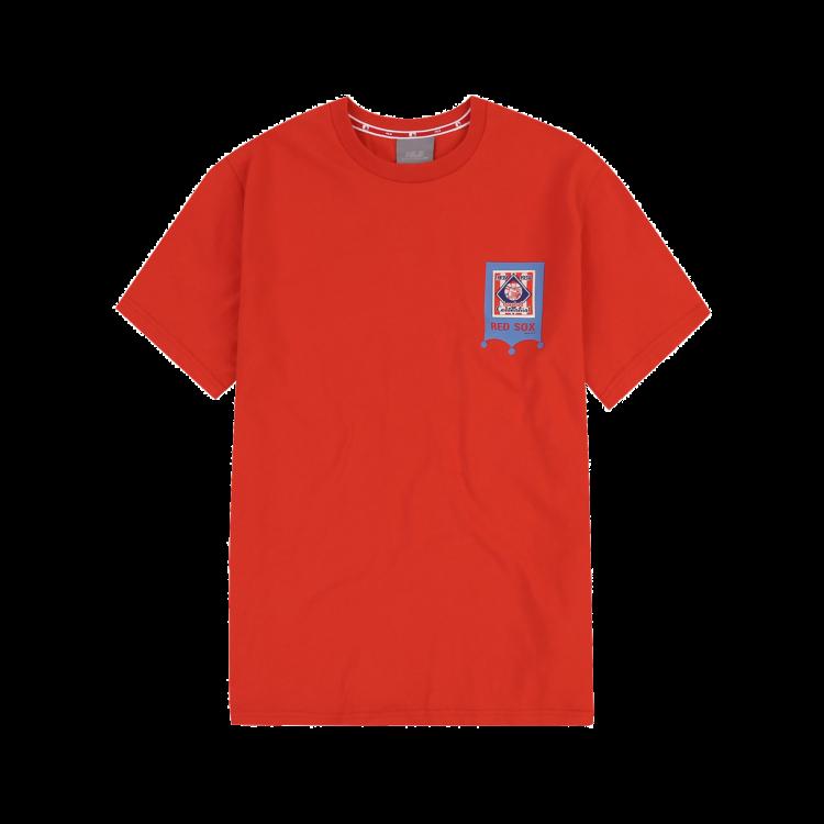 best website 592d4 9075b BOSTON RED SOX BASEBALL LABEL SHORT SLEEVE T-SHIRT ...
