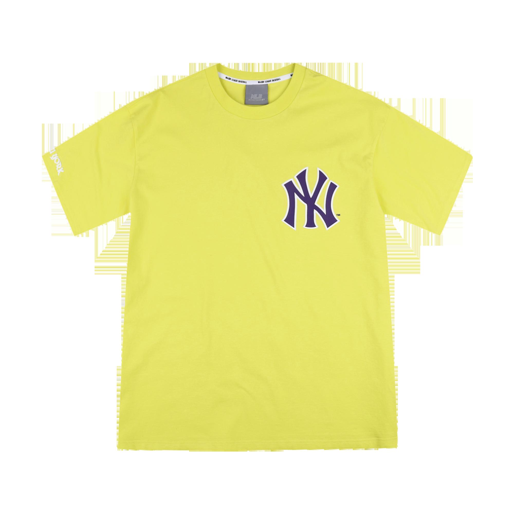 NEW YORK YANKEES VINTAGE BIG LOGO SHORT SLEEVE T-SHIRT