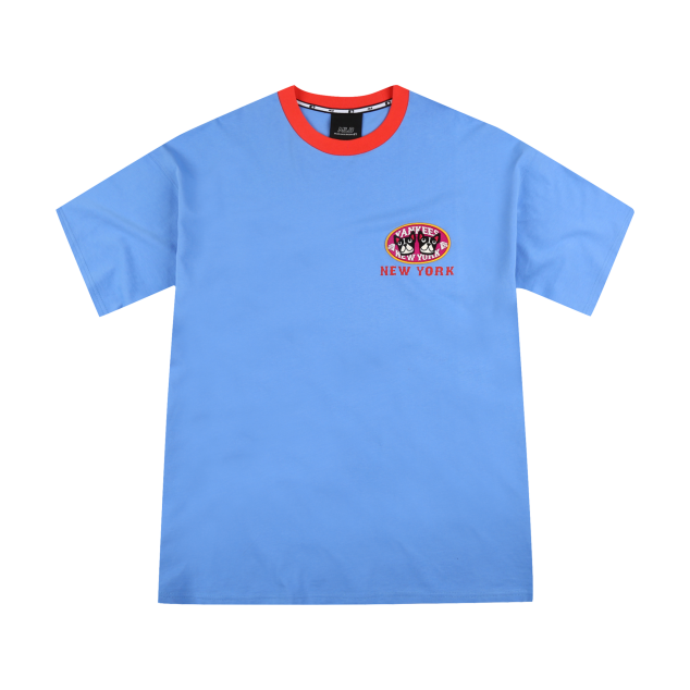 NEW YORK YANKEES BARK TWINS SHORT SLEEVE T-SHIRT
