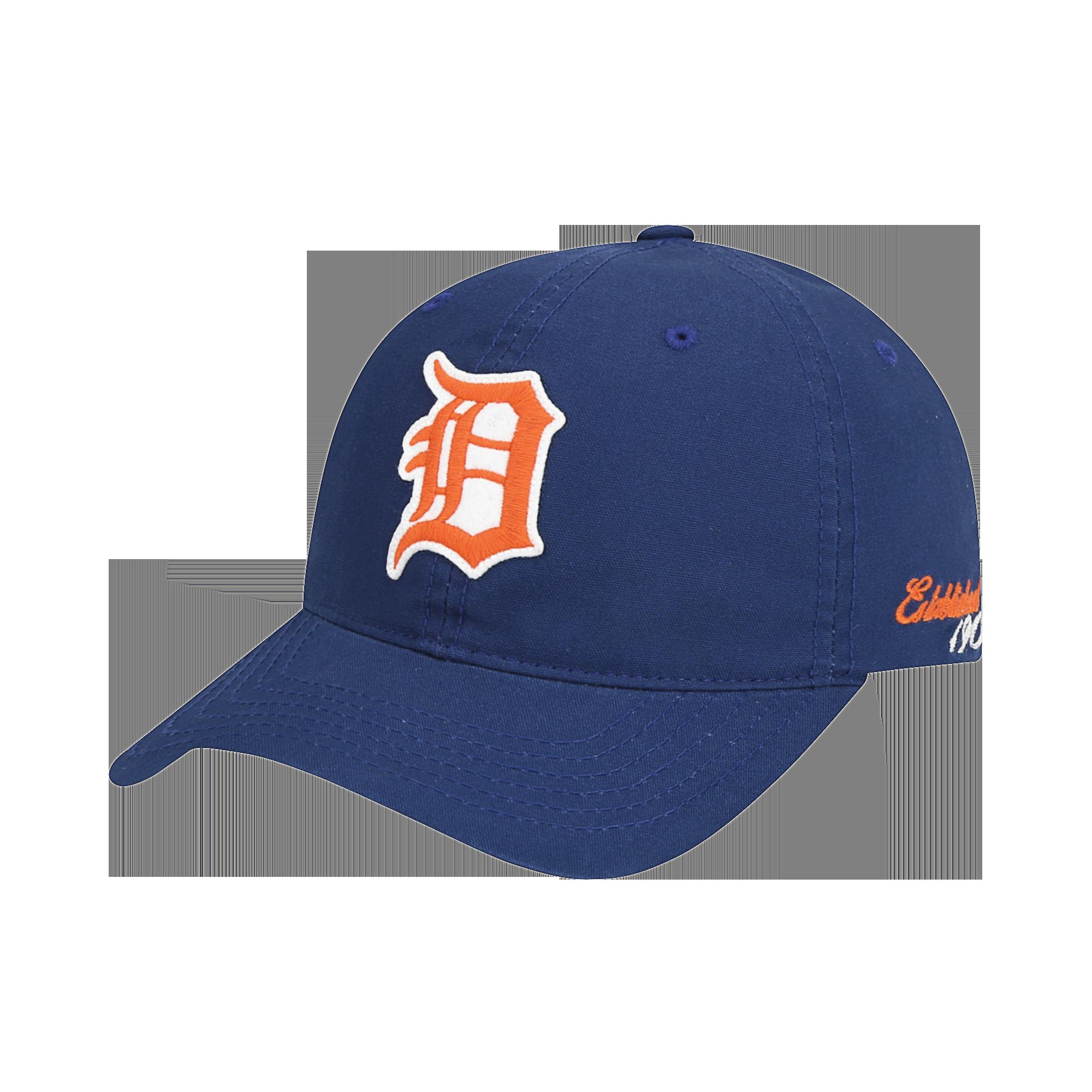 DETROIT TIGERS STATUE LOGO BALL CAP