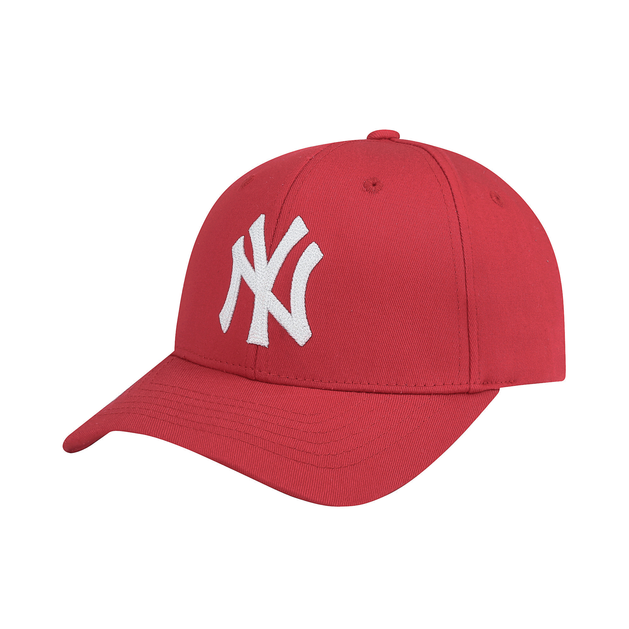 NEW YORK YANKEES CHAIN EMBROIDERY ONE-POINT ADJUSTABLE CAP