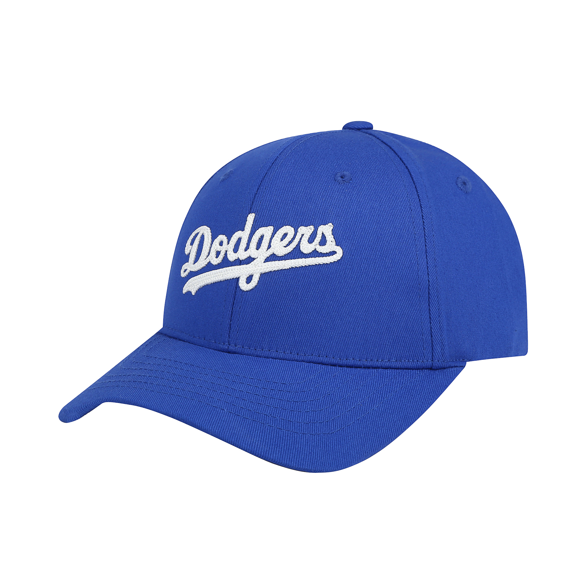 LA DODGERS CHAIN EMBROIDERY CURSIVE ADJUSTABLE CAP