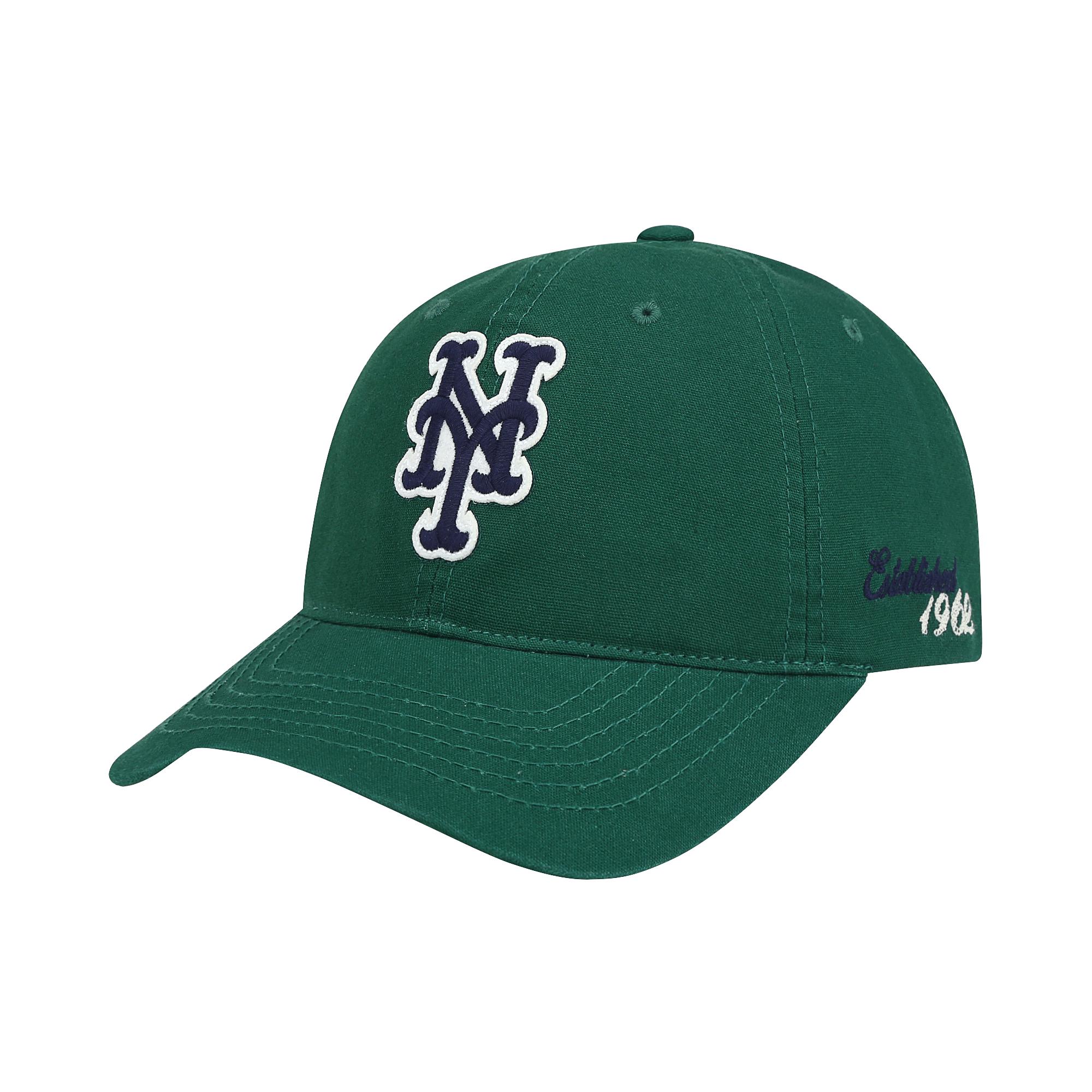 NEW YORK METS APPLIQUE BALL CAP