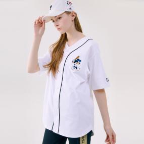 [현아착용]MLB X DISNEY 미키마우스 베이스볼 저지 뉴욕양키스