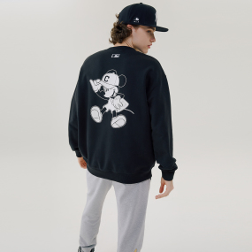 MLB X DISNEY 뒤 빅 미키마우스 맨투맨 클리블랜드 인디언스