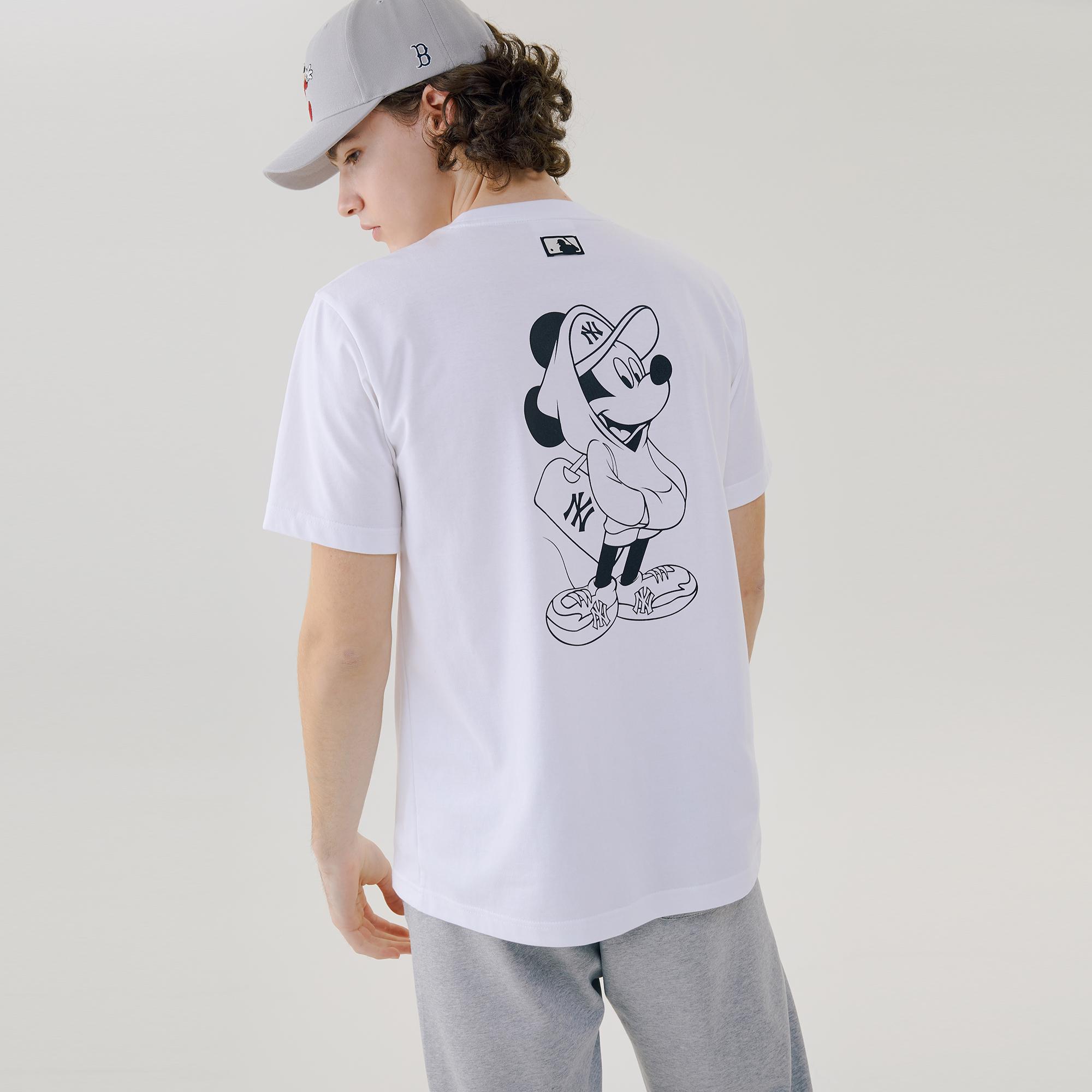 MLB X DISNEY 반팔 티셔츠 뉴욕양키스