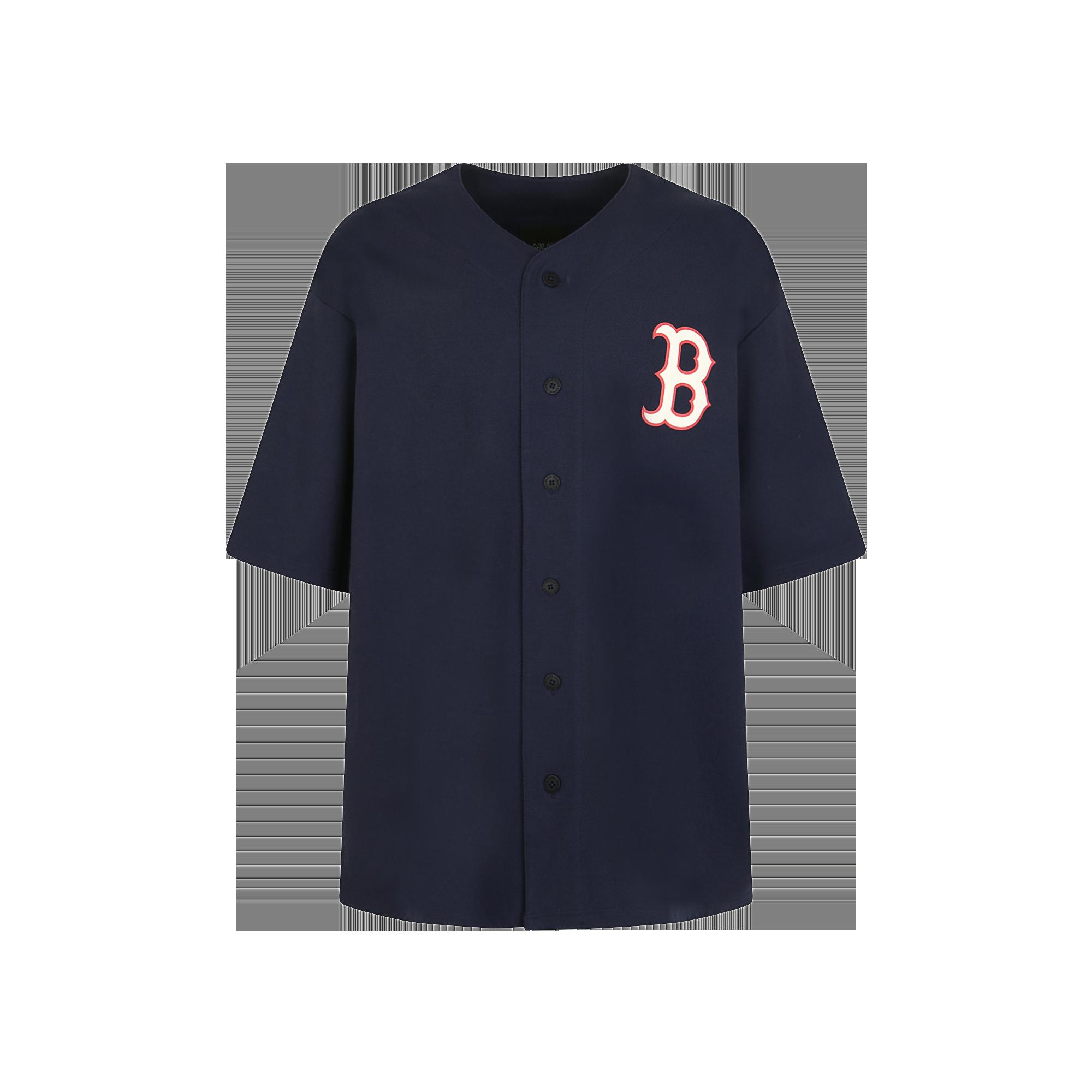 팝콘 베이스볼 져지 보스턴 레드삭스