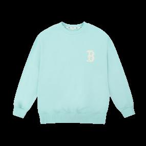 MLBLIKE 오버핏 맨투맨 보스턴 레드삭스