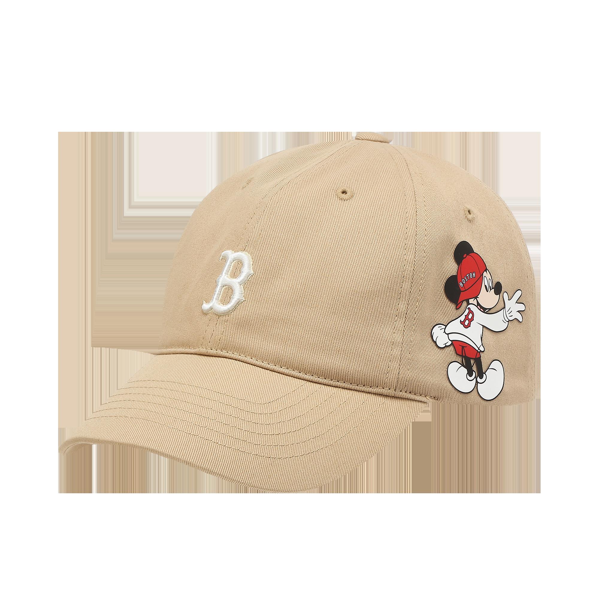 MLB X DISNEY 볼캡  보스턴 레드삭스