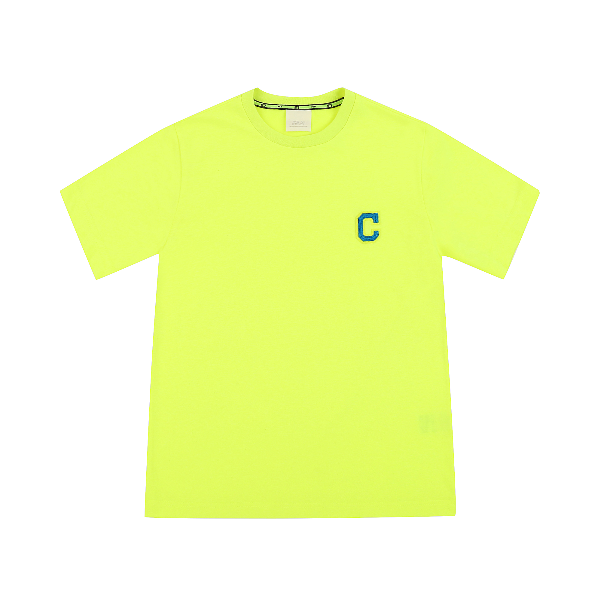 베이직 로고 반팔 티셔츠 클리블랜드 인디언스