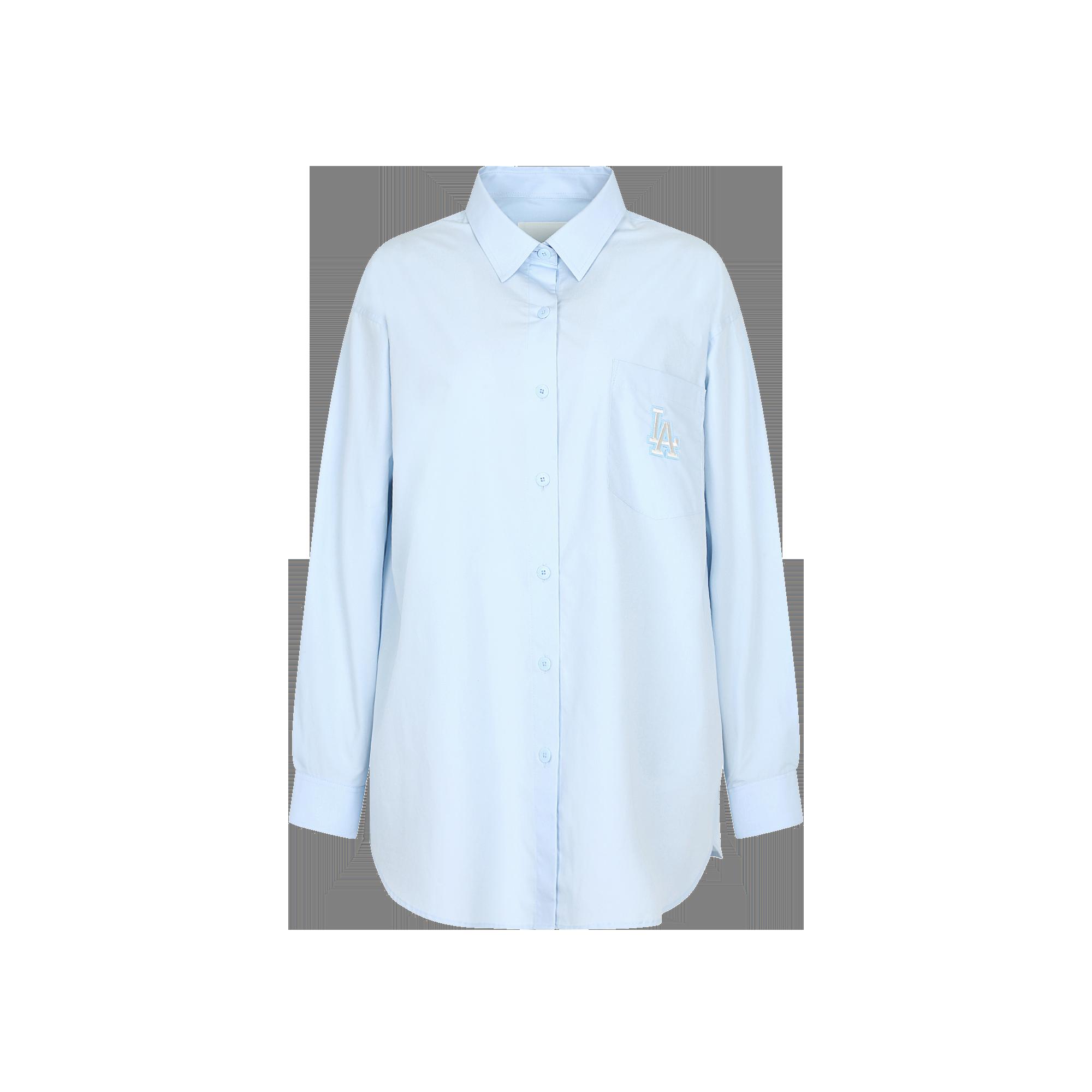 앞포켓 로고자수 베이직 셔츠 LA다저스