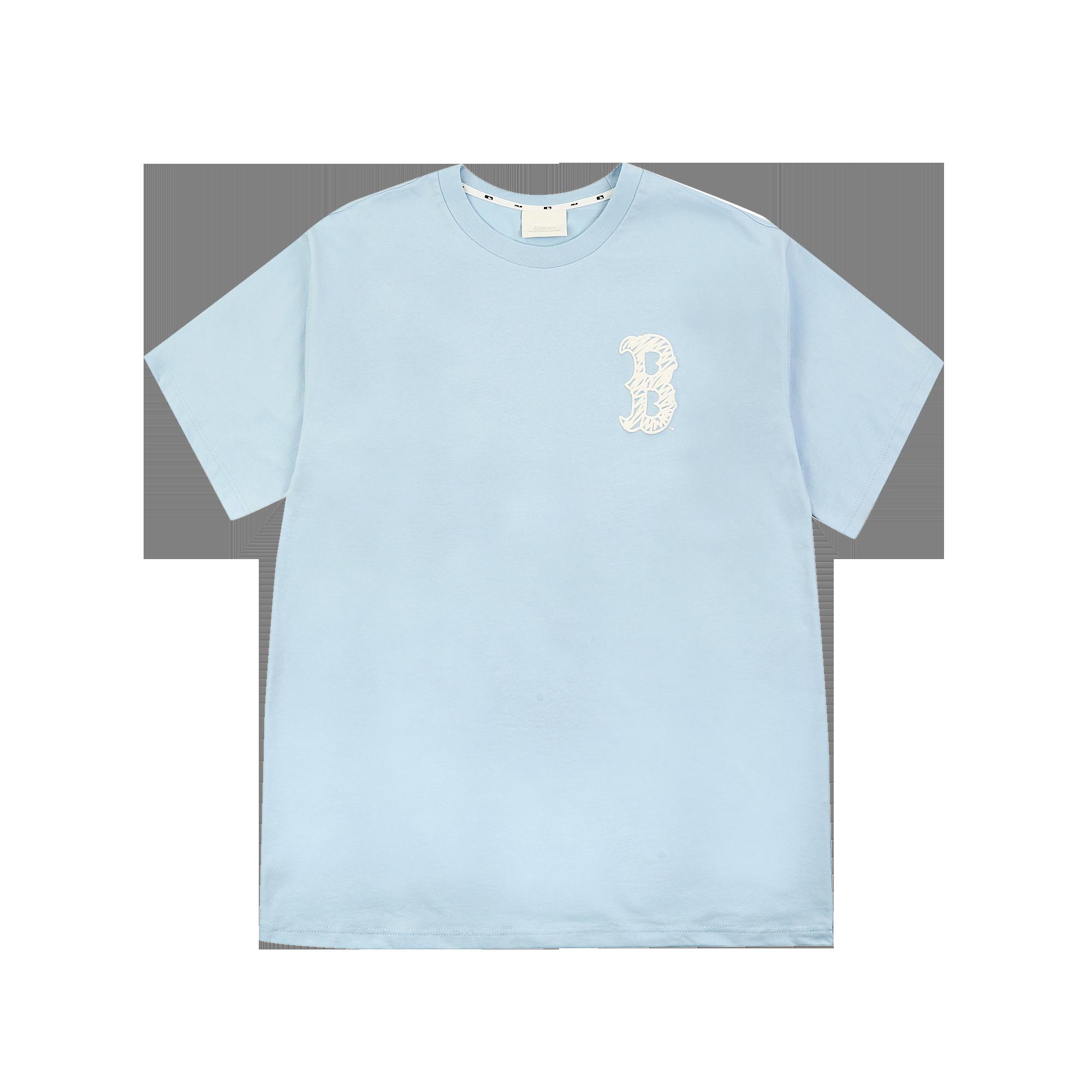MLB LIKE 오버핏 반팔 티셔츠 보스턴 레드삭스