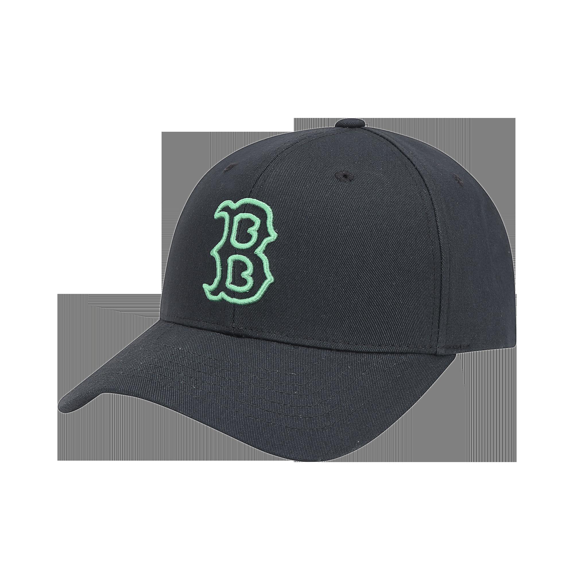 팝콘 MLB LIKE 커브조절캡 보스턴 레드삭스