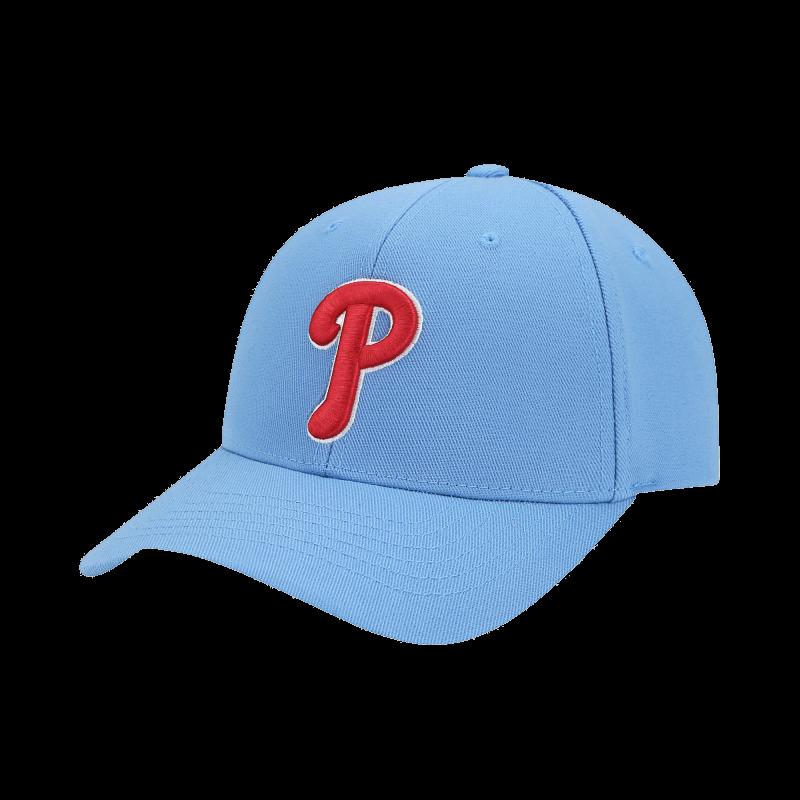 엠엘비(MLB) X-FLEX 커브조절캡 P (SKY BLUE)