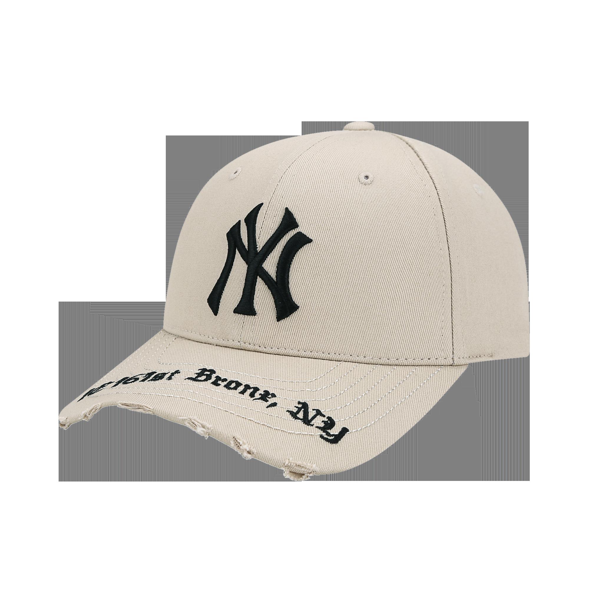 고딕 어드레스 커브조절캡 뉴욕양키스