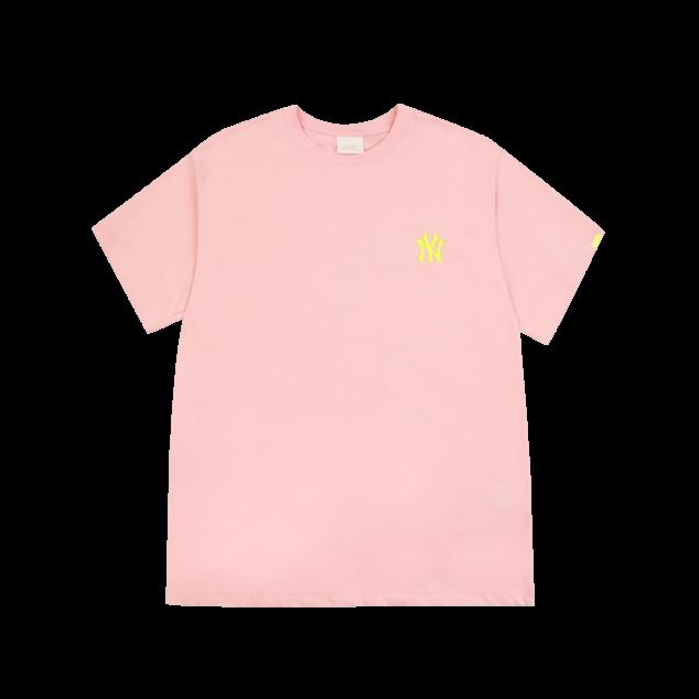 워터컬러 빅로고 오버핏 반팔 티셔츠 뉴욕양키스