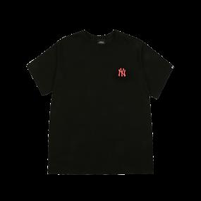 워터컬러 오버핏 반팔 티셔츠 뉴욕양키스