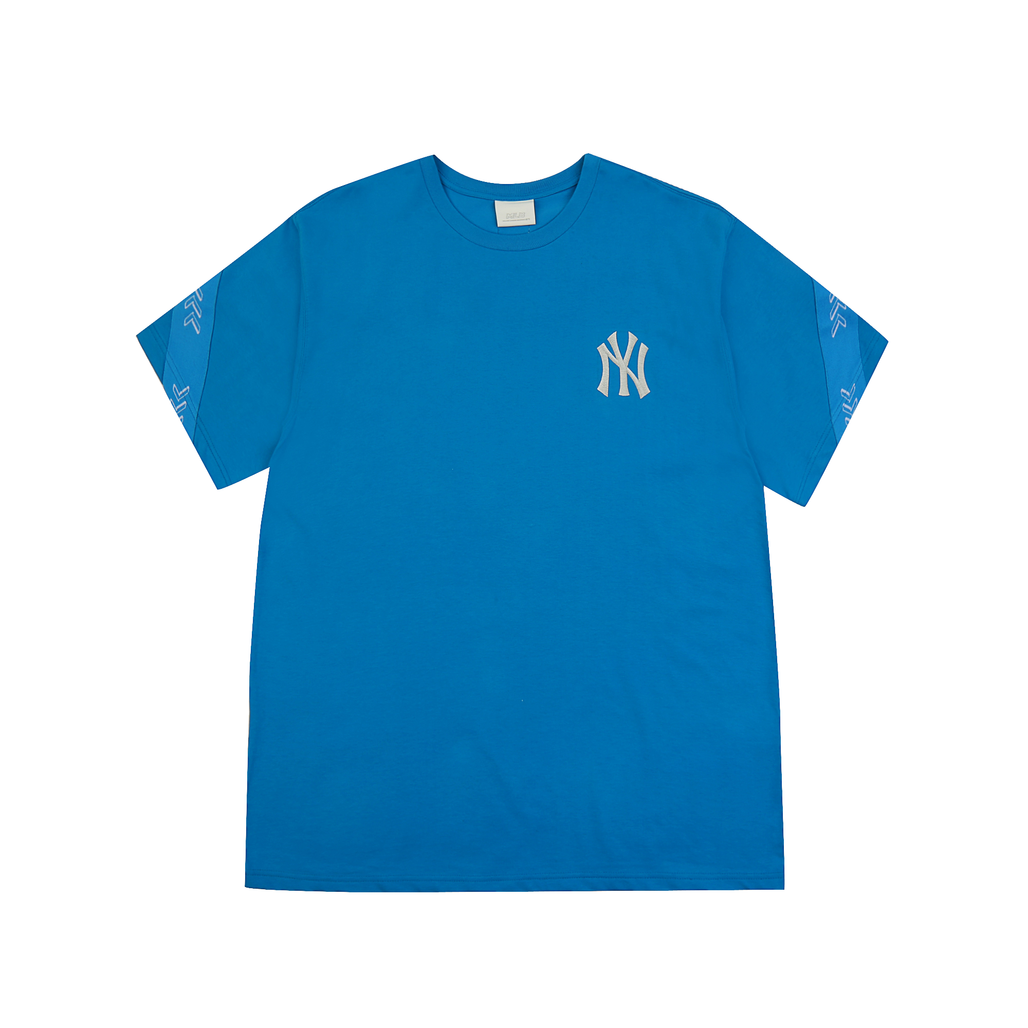 심볼 테이핑 오버핏 반팔 티셔츠 뉴욕양키스