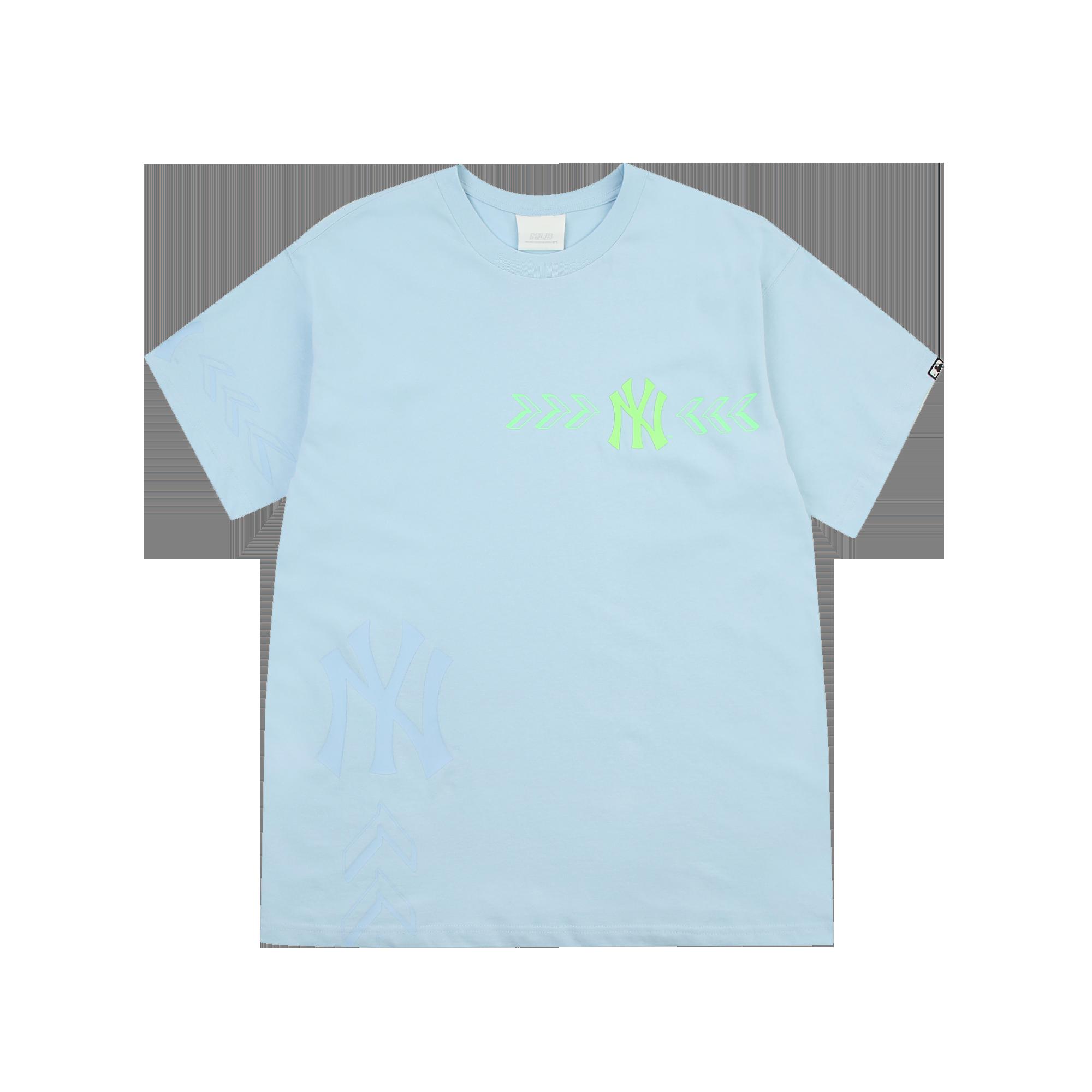 심볼 크로스 오버핏 반팔 티셔츠 뉴욕양키스