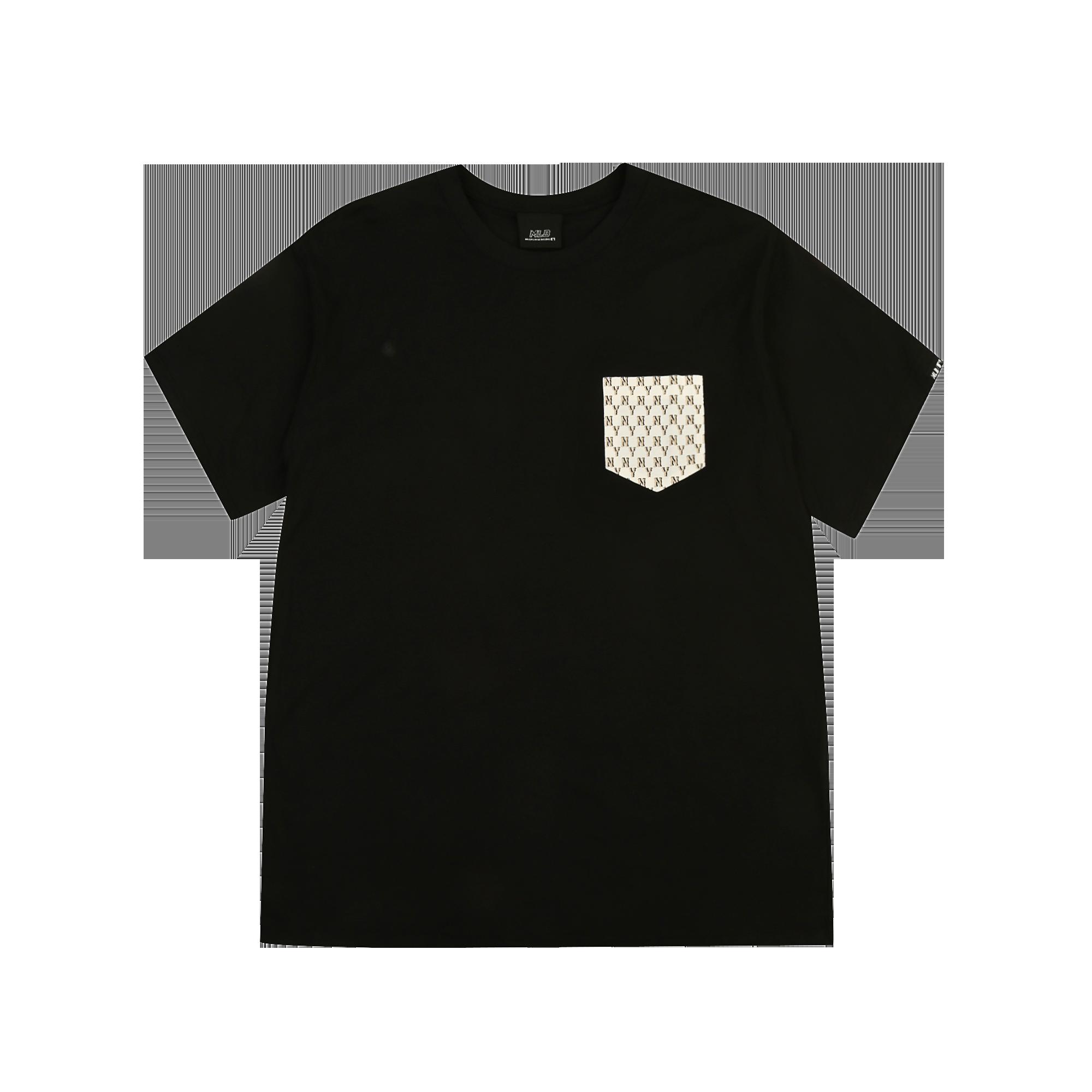 모노그램 포켓 반팔 티셔츠 뉴욕양키스