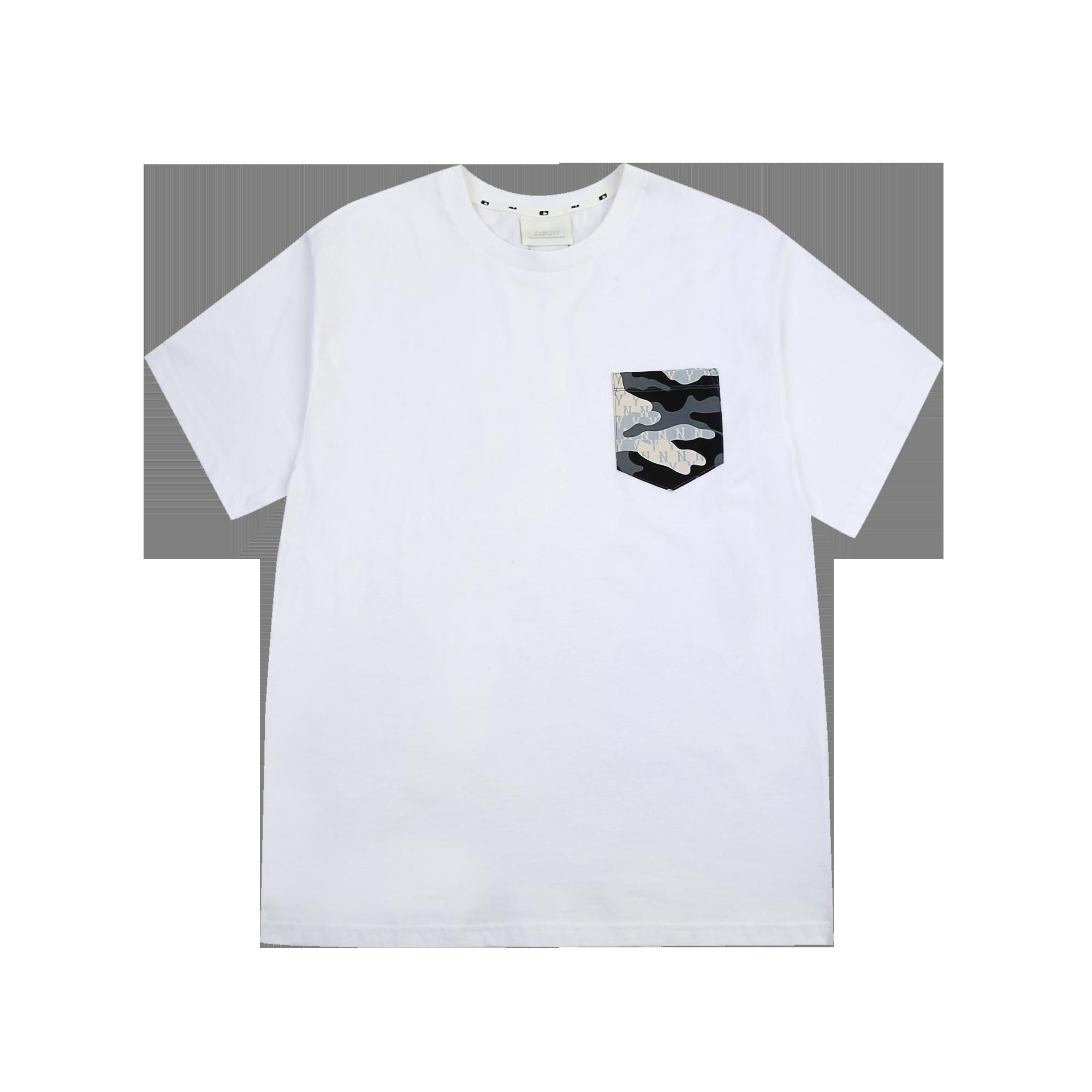 카모 모노그램 포켓 반팔 티셔츠 뉴욕양키스