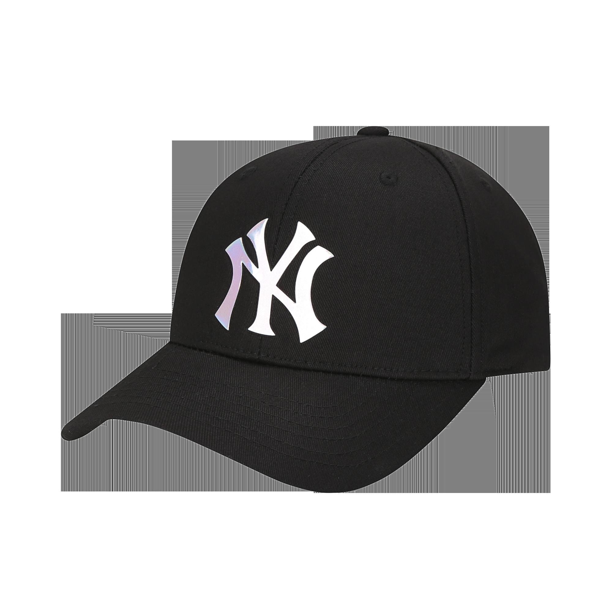 플랫 글리터 커브조절캡 뉴욕양키스