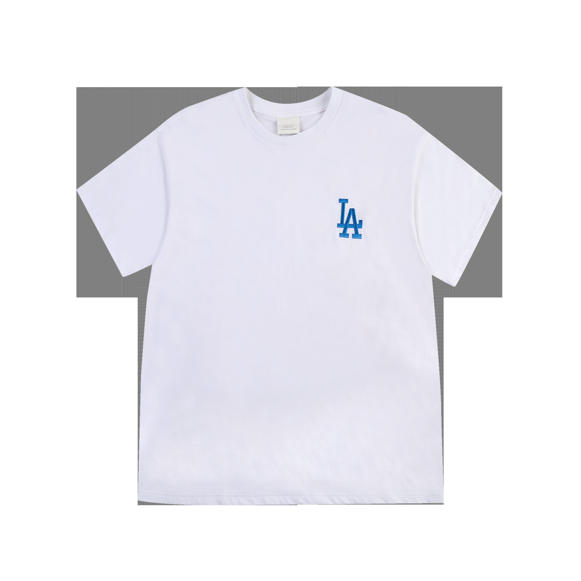 팜트리 워터컬러 오버핏 반팔 티셔츠 LA다저스