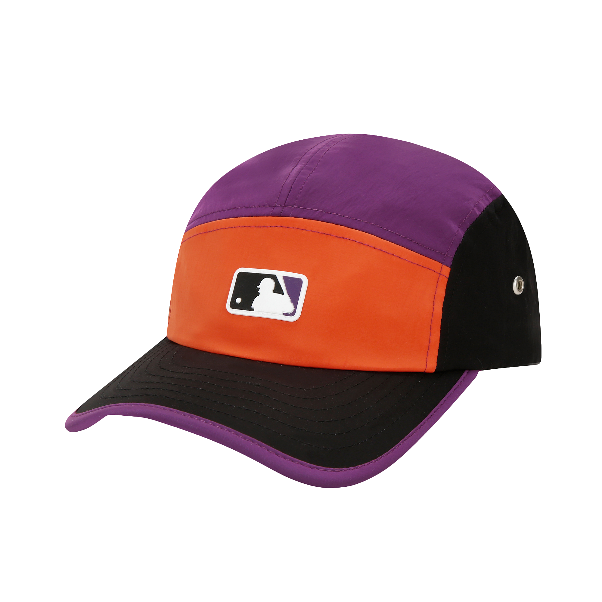 레트로 컬러블록 캠프캡 MLB