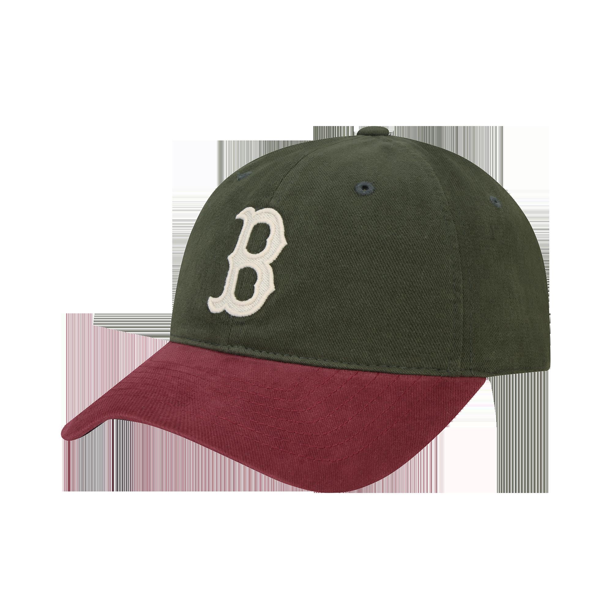 [볼캡] 배색 N-COVER 볼캡 보스턴 레드삭스