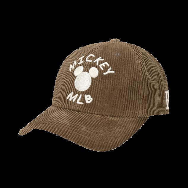 MLB X MICKEY 코듀로이 볼캡 보스턴 레드삭스