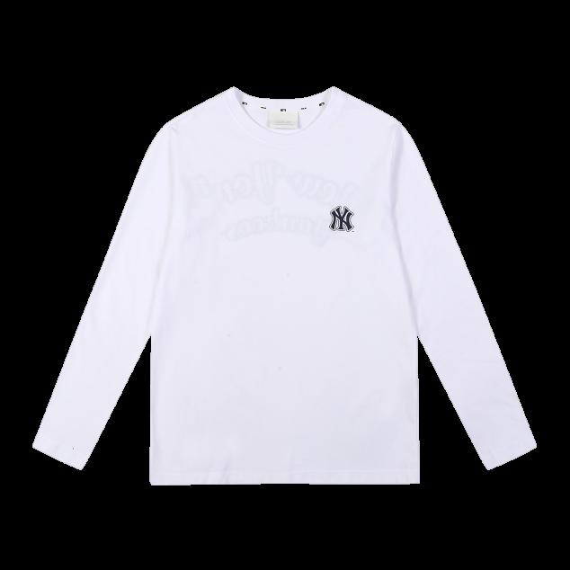 레터링 긴팔 티셔츠 뉴욕양키스