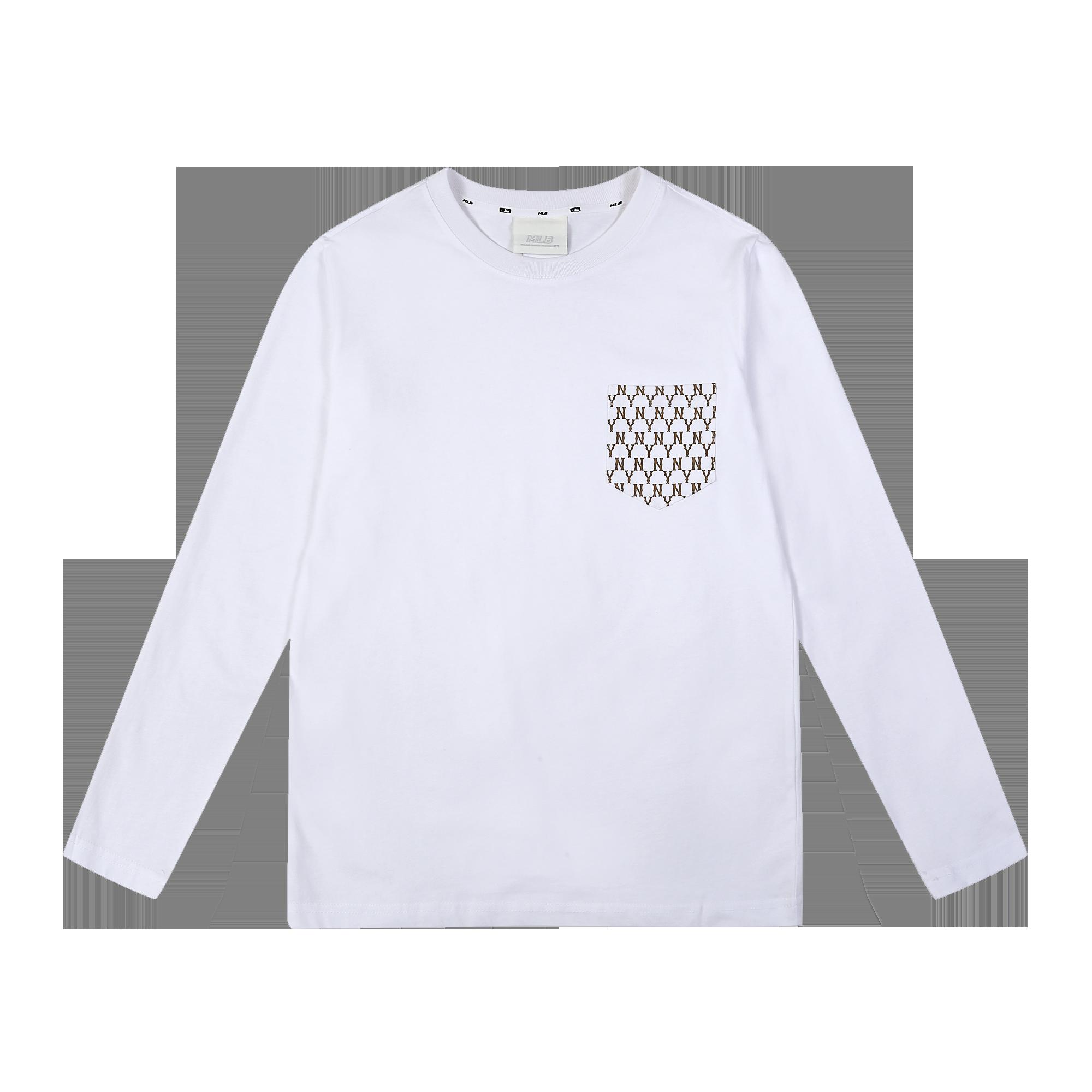모노그램 포켓 긴팔 티셔츠 뉴욕양키스