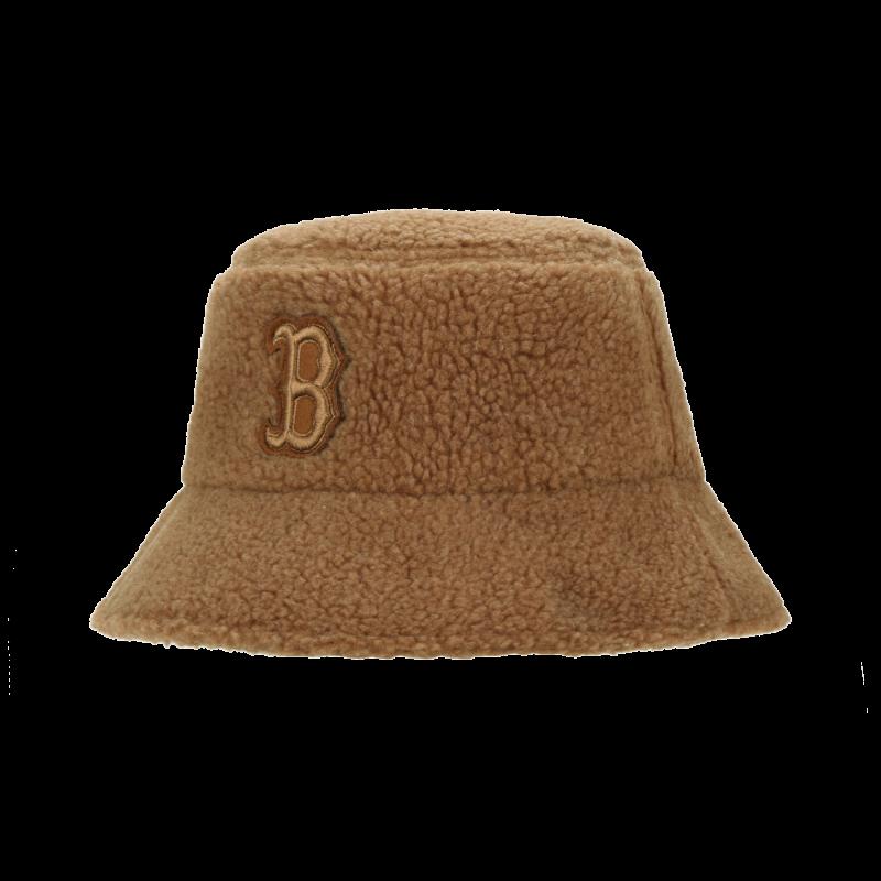 엠엘비(MLB) 슈크림 양털 후리스 버킷햇 P (CAMEL)