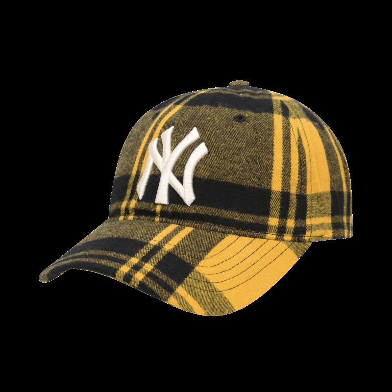엠엘비(MLB) 체크 뉴 커버핏 볼캡 B (YELLOW)