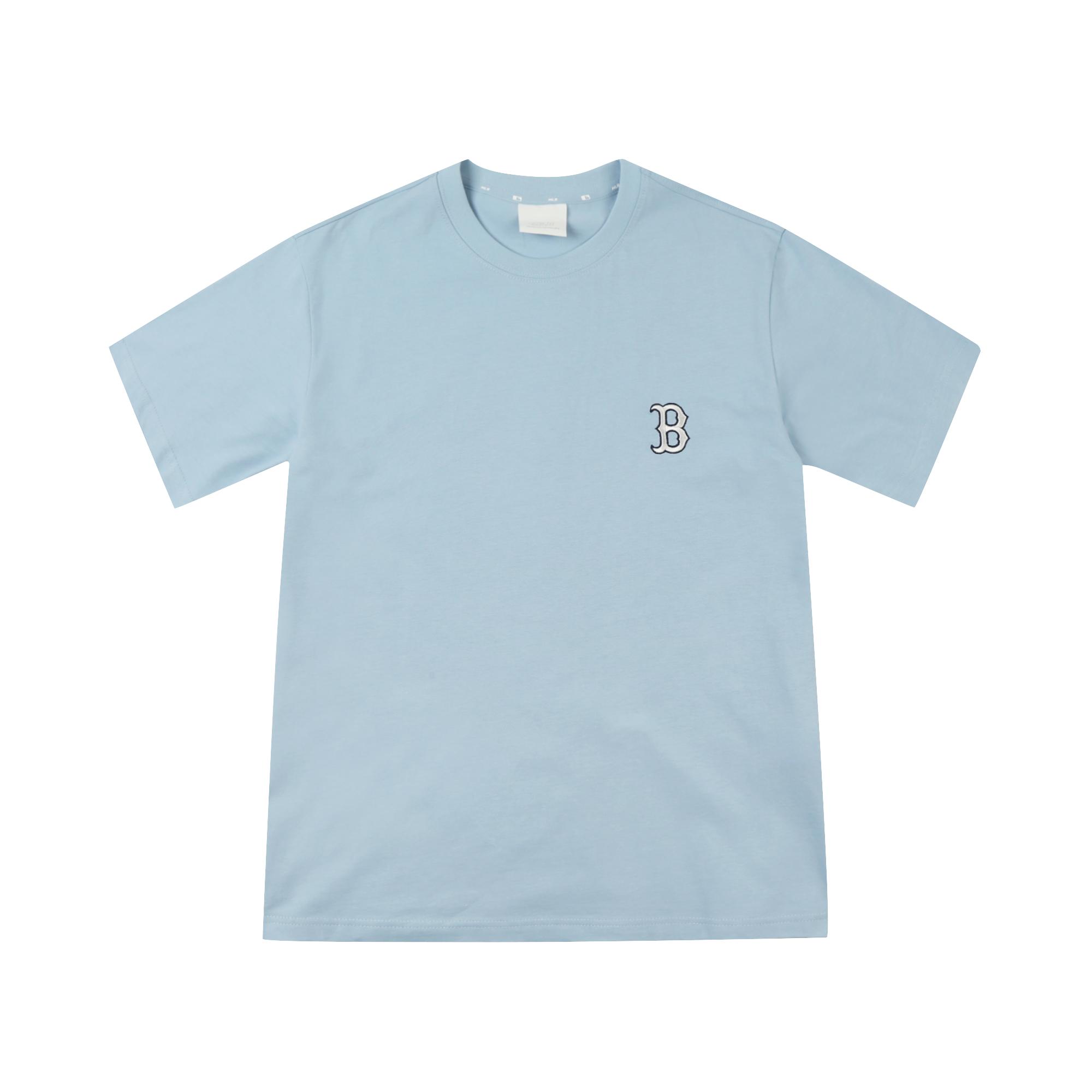 [해외전용] 모노그램 빅로고 반팔 티셔츠 보스턴 레드삭스