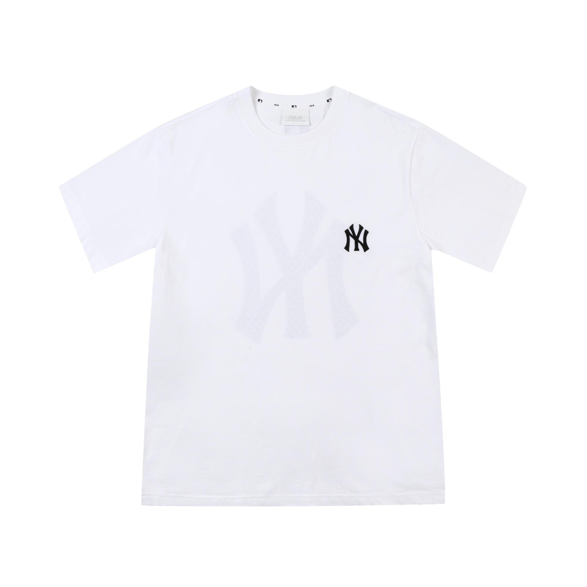 [해외전용] 모노그램 빅로고 반팔 티셔츠 뉴욕양키스