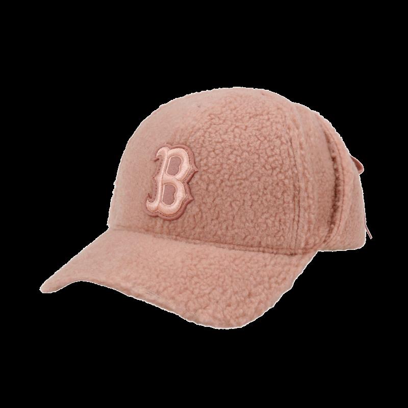 엠엘비(MLB) 양털 후리스 귀달이 캡 B (PINK)