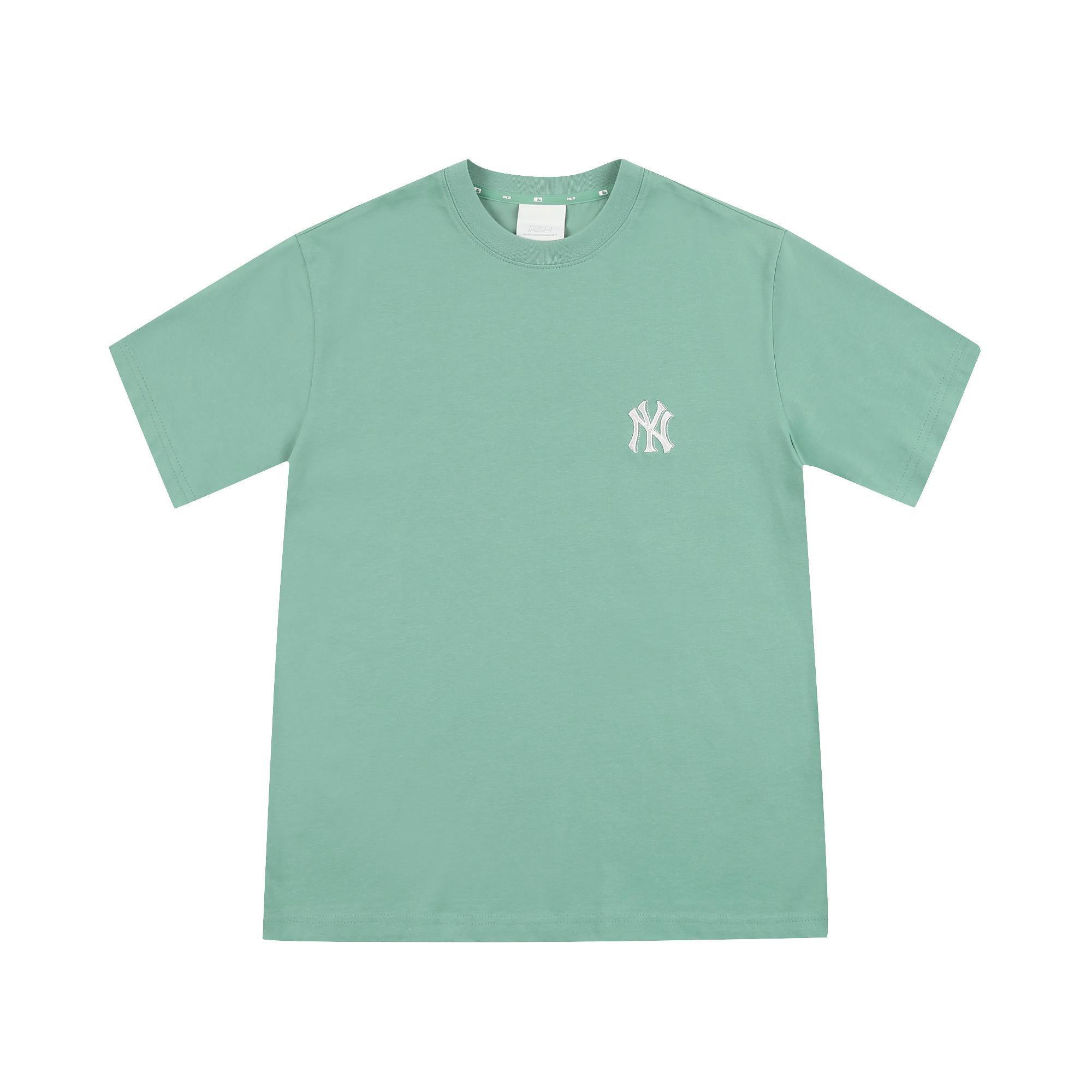 베이직 백 빅로고 반팔 티셔츠 뉴욕양키스