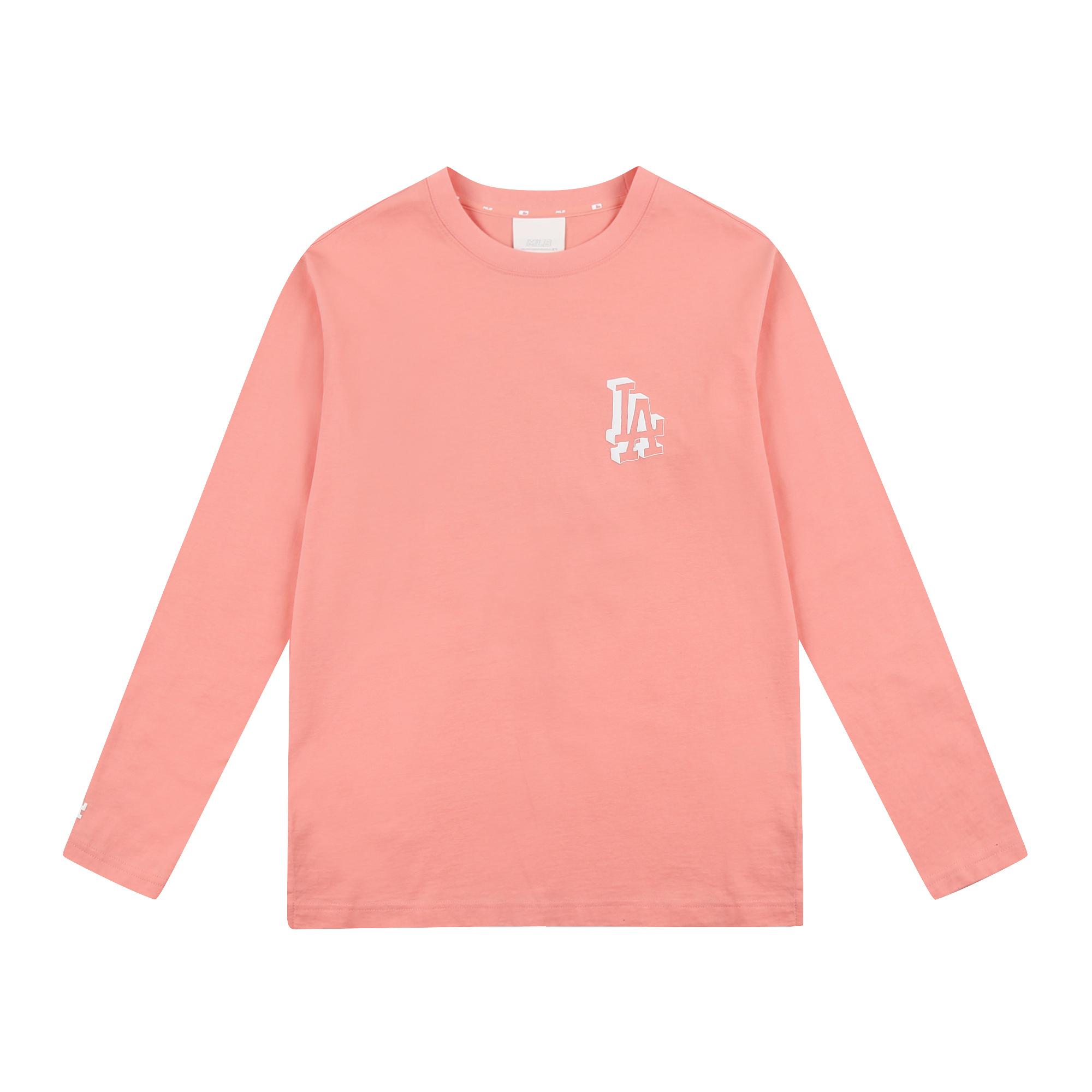 LIKE 단색 팝콘 긴팔 티셔츠 LA다저스