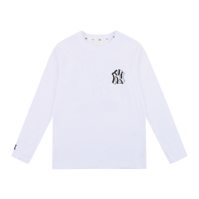 LIKE 단색 팝콘 긴팔 티셔츠 뉴욕양키스