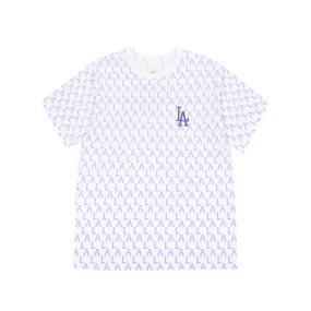 모노그램 올오버 오버핏 반팔 티셔츠 LA다저스