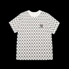 모노그램 올오버 오버핏 반팔 티셔츠 뉴욕양키스