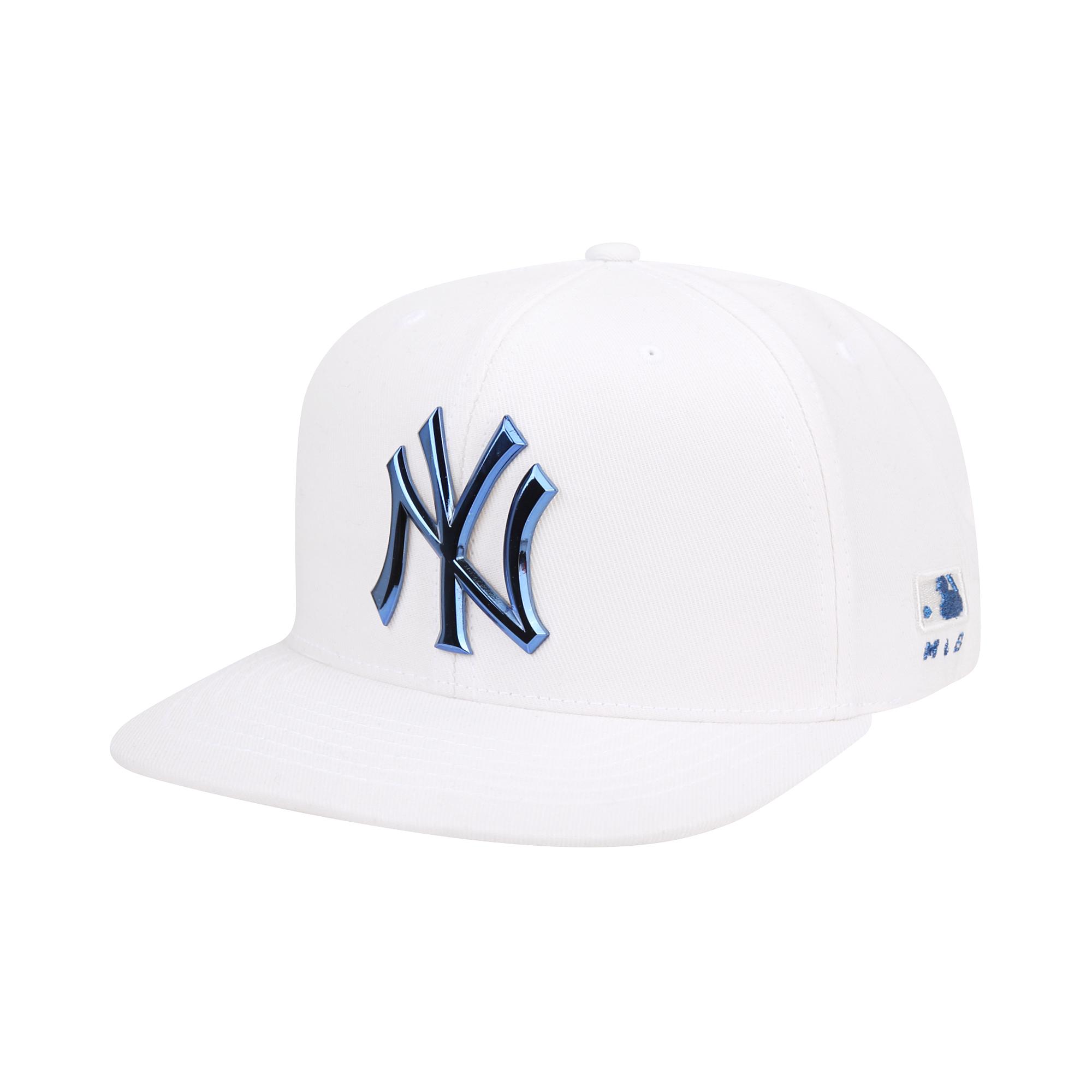 아노다이징 로고 스냅백 뉴욕양키스