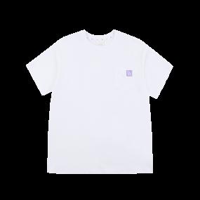 로고 베이직 포켓 라벨 오버핏 반팔 티셔츠 LA다저스